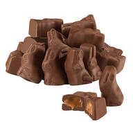 Milk Chocolate Caramel Filled Bunnies, 6.5 oz.