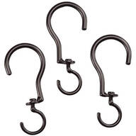 Swivel Basket Hooks, Set of 3