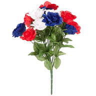 Patriotic Rose Bush Bouquet by Oakridge Outdoor™