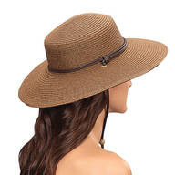 Sloggers® Wide Brim Braided Hat