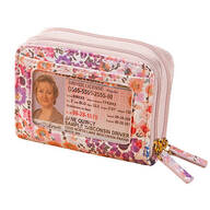 Buxton RFID Floral Accordion Wallet