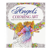 Angels Art Coloring Book