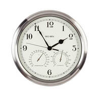 Big Ben Classic Metal Indoor/Outdoor Wall Clock