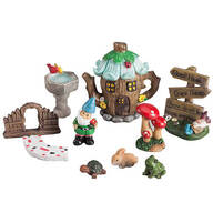 Fairy Garden Kit, Set of 10