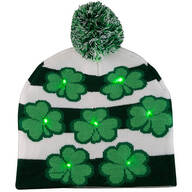 St. Patrick's Day Lighted Knit Hat