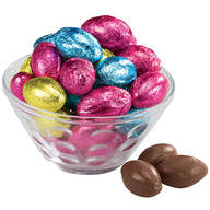 Solid Chocolate Foil Eggs, 8.5 oz.