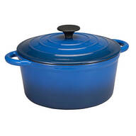 Enamel Cast Iron Dutch Oven, 4 Qt. By Home Marketplace