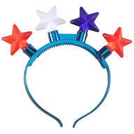 Patriotic Jumbo Lighted Headband