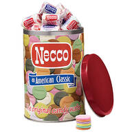 Necco® Wafer Keepsake Tin, 10 oz. & Refill, 10 oz.