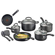 Ultimate Hard Anodized Titanium 12 Pc. Cookware Set