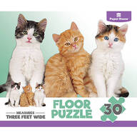 Children's Kitten 30-Piece Floor Puzzle