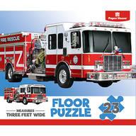 Children's Firetruck 23-Piece Floor Puzzle