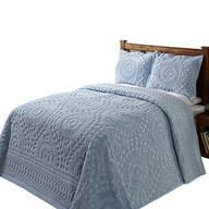 Rio Chenille Bedding Blue