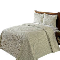 Florence Chenille Bedspread, Sage