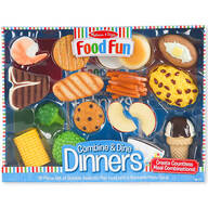 Melissa & Doug® Food Fun Combine & Dine Dinners - Blue