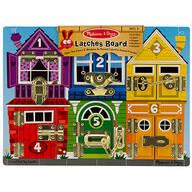 Melissa & Doug® Latches Board