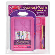 Melissa & Doug® Fashion Design Activity Kit
