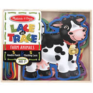 Melissa & Doug® Lace and Trace Farm Animals