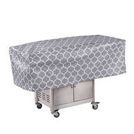 Trellis Pattern Quilted BBQ Grill Cover