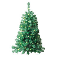 3' Lighted Wall Christmas Tree