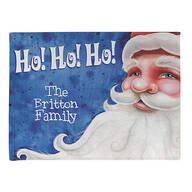 Personalized Santa Ho! Ho! Ho! Doormat