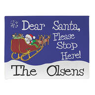 Personalized Dear Santa Doormat