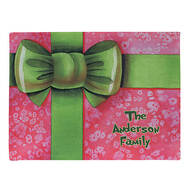 Personalized Merry Christmas Gift Doormat
