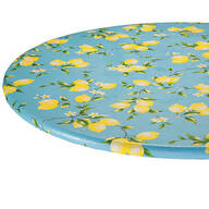 Lemon Tree Elastic  Vinyl Table Cover