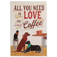 All You Need is Love & Coffee by Veronique Charon Wall Art