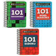 Brain Games® Mini 101 Books, Set of 3