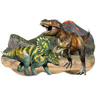 Children's Dinosaurs 30-Piece Floor Puzzle