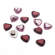 Heart Magnets - Set of 12