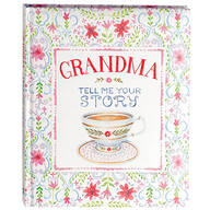 """Grandma Tell Me Your Story"" Keepsake Journal"