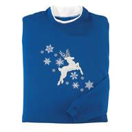 Reindeer Sweatshirt by Sawyer Creek Studio™
