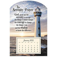 Mini Magnetic Calendar, Serenity Lighthouse
