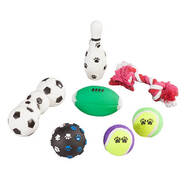 Sports Pet Toys 7-Pc. Set