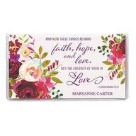 Personalized 2 Yr Planner Faith Hope Love