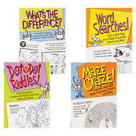Children's Bible Puzzle Books, Set of 4