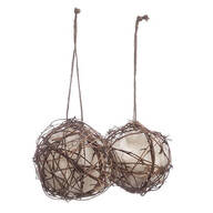 Grapevine Globe Hummingbird Nesters, Set of 2