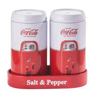 Coca-Cola® Tin Salt & Pepper Set