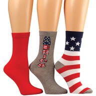 Americana Socks, Set of 3