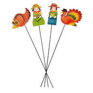 Metal Harvest Stakes by Maple Lane Creations™, Set of 4