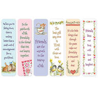 Friendship Bookmarks, Set of 12