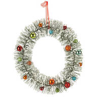 Vintage Bottle Brush Wreath by Northwoods™