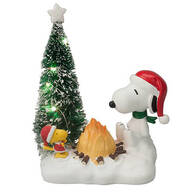 Peanuts® Lighted Campfire Table Figure