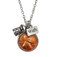 Year To Remember Penny Wish Coin Necklace