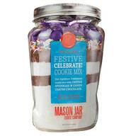 Mason Jar Celebrate! Cookie Mix