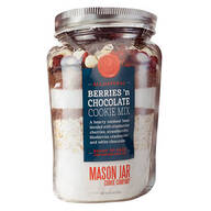 Mason Jar Berries 'N Chocolate Cookie Mix