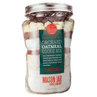 Mason Jar Orchard Oatmeal Cookie Mix