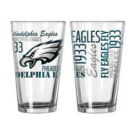 NFL Pint Glasses, Set of 2